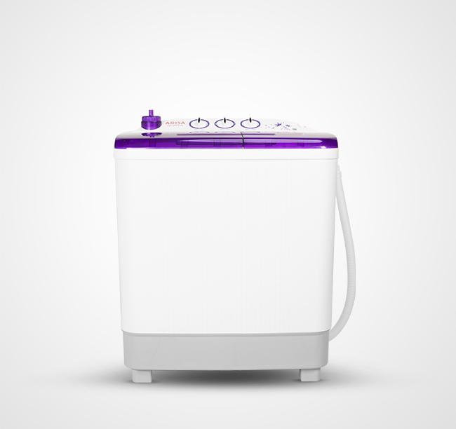 Mesin Cuci AW - 8855 - Purple