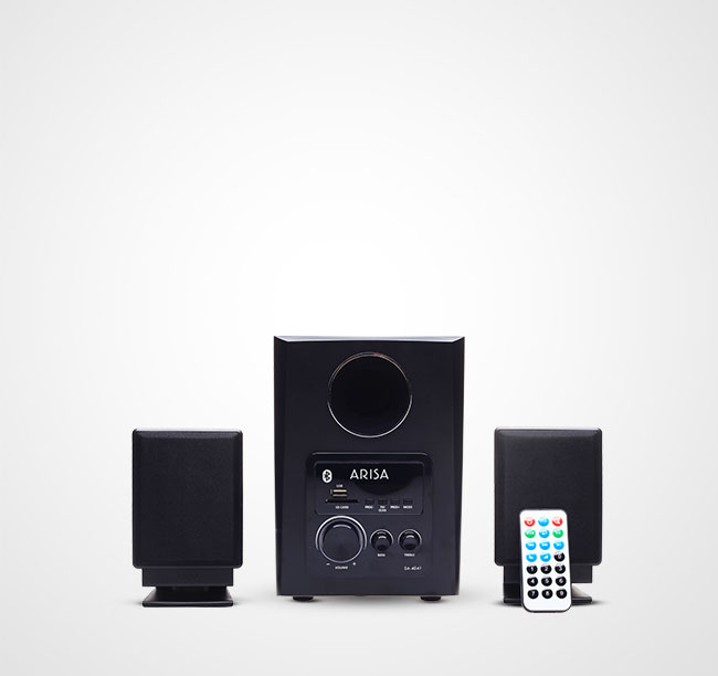 Speaker Aktif SA - 4041 - Black