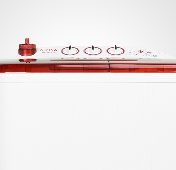 Mesin Cuci AW - 8855 - Red