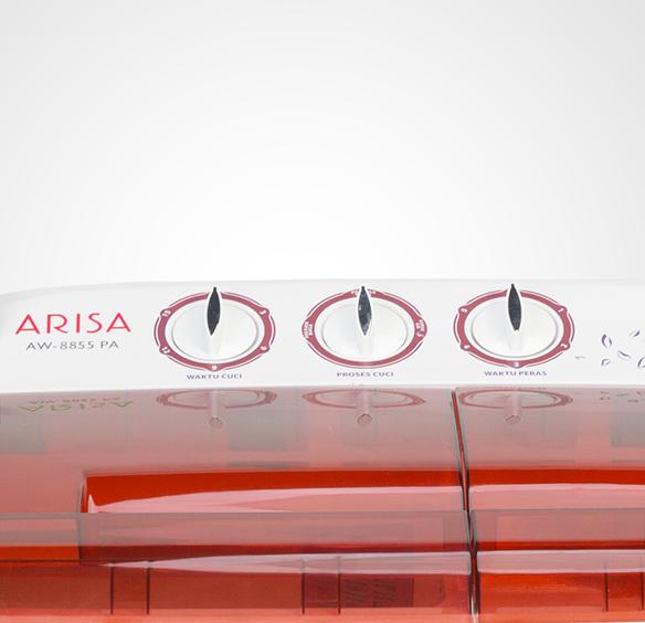 Mesin Cuci AW - 9955 - Red