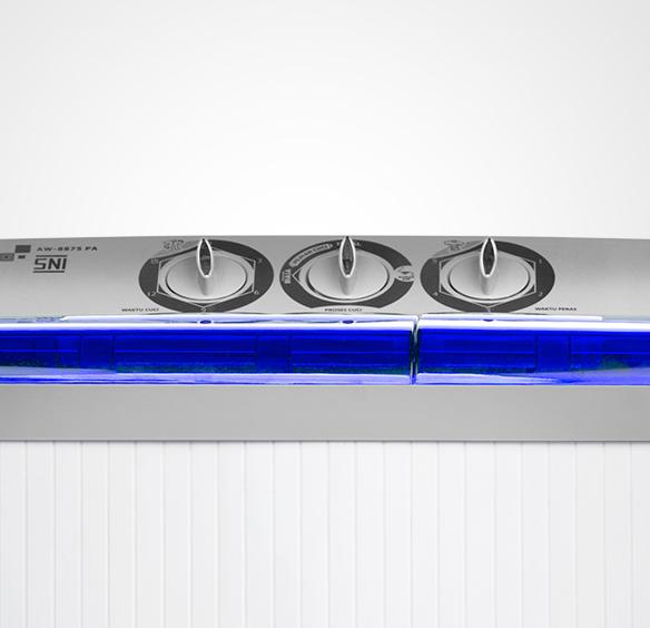 Mesin Cuci AW - 8875 - Blue