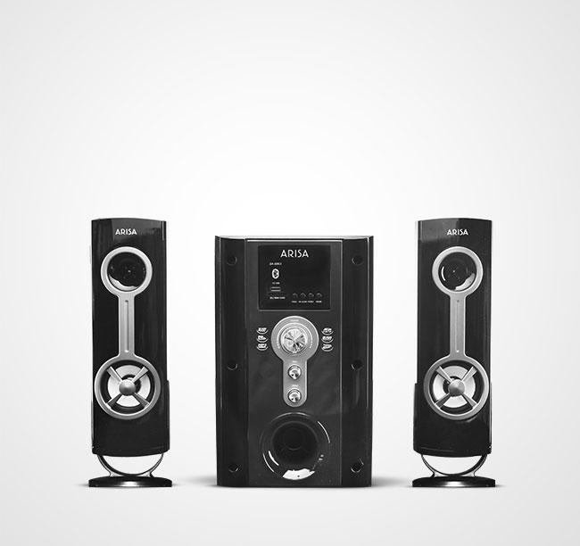 Speaker Aktif SA - 6061 - Titanium
