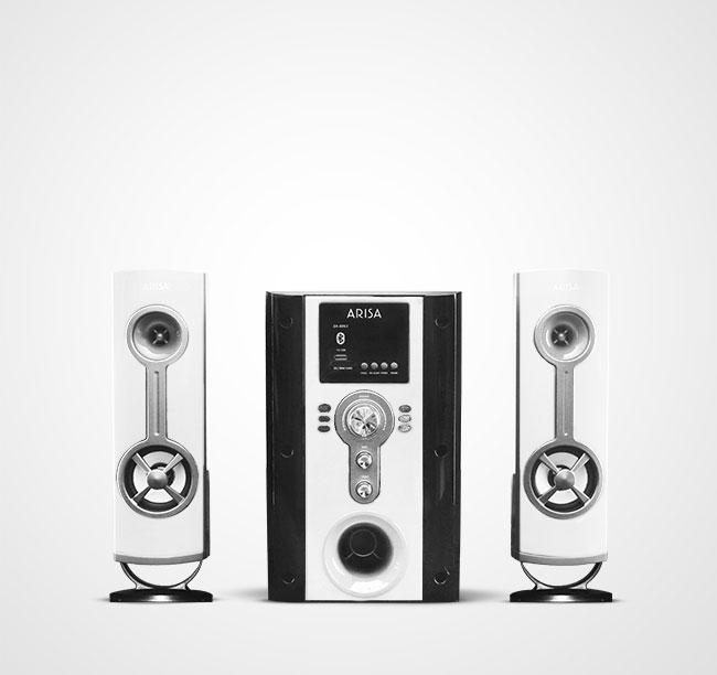 Speaker Aktif SA - 6061 - Super White