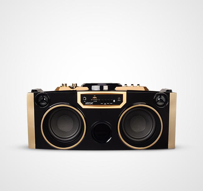 Speaker Aktif SA - 3052 - Gold