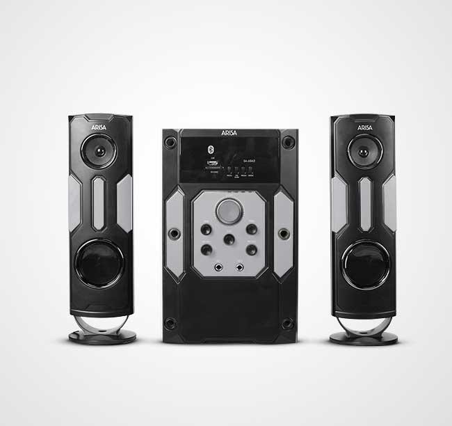 Speaker Aktif SA - 6062 - Silver
