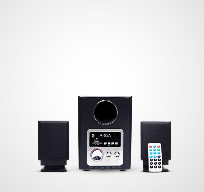 Speaker Aktif SA - 4041 - Silver